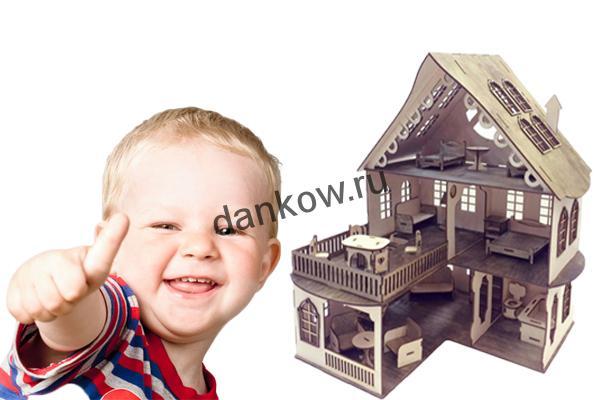 Драўляны лялечны домік